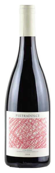 Bottle of Pietradolce wine